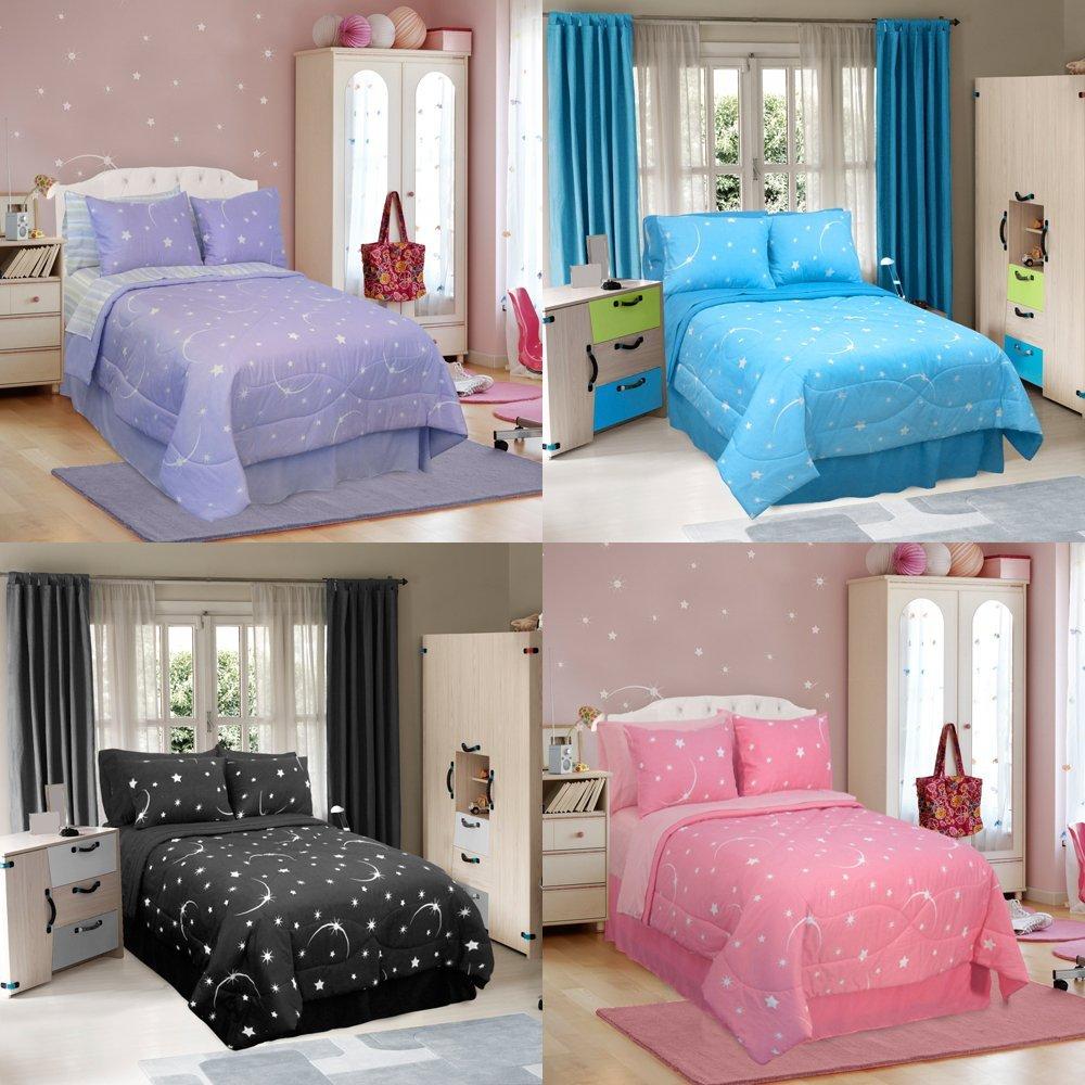 mega-sweet-christmas-gift-for-the-girls-glow-in-the-dark-comforter ...